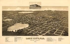 historic maps of florida historical map of lake city fl 1885
