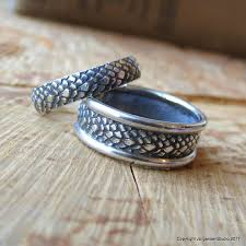 dragon wedding rings images Dragon scales matching wedding bands mother of dragons wedding jpg