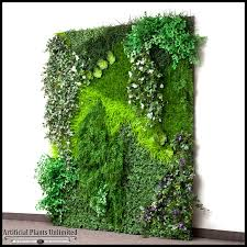 artificial plants assembled replica indoor vertical garden artificial plants unlimited