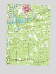 topo maps wisconsin wisconsin rapids south wi topographic map topoquest