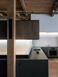 apartment well arranged san francisco loft kitchen cabinet with