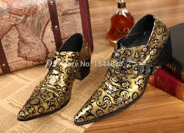 wedding shoes for men cheap wholesale snakeskin genuine leather men shoes metal pointed