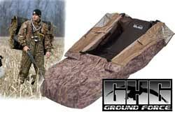 Avery Blind Avery Outdoors Ghg Groundforce Layout Blind Marsh Mutt Hunting