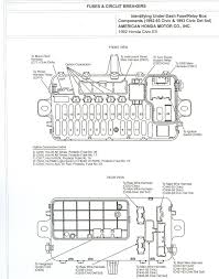 2000 honda civic fuse box diagram 2000 wiring diagrams collection