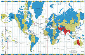 United States Time Zone Map by World Time Map Roundtripticket Me