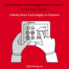 smart home technology you need in your home design dig this design