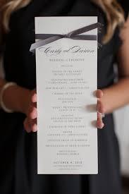 Design Wedding Programs Pretty Wedding Ceremony Program Bookingentertainment Com