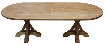 double pedestal trestle dining table with design inspiration 11363