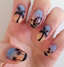 palm tree nail art nail art how to nail designs coachella palm