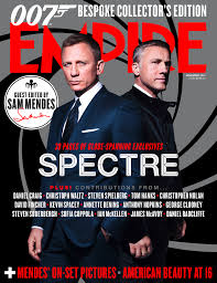 Spectre Film by Daniel Craig Featured On Empire U0027s Spectre Cover