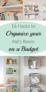16 simple nursery kid u0027s room organizing diy hacks clean house