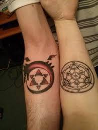 fullmetal alchemist tattoos cross of flamel fullmetal