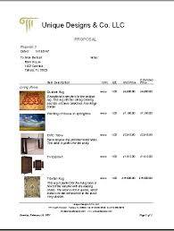 Interior Design Services Contract by Interior Design Contract Template Interior Design Proposal