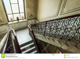 stairwell in casa alonso havana editorial photography image