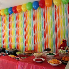 background decoration for birthday party at home 20 crepe paper tutorials crepe paper crepes and tutorials