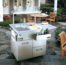 outdoor kitchen sinks and faucets outdoor kitchen sink station bloomingcactus me