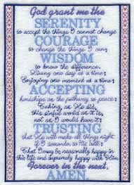 serenity prayer picture frame machine embroidery designs at embroidery library embroidery library