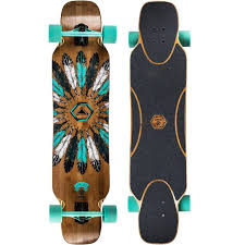 drop bamboo flex longboard decathlon