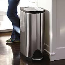 poubelle cuisine 40 litres poubelle de cuisine à pédale 30 litres inox brossé ouverture