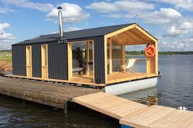 cabins small house bliss dubldom houseboat a modular floating cabin with a 280 sq ft studio floor plan