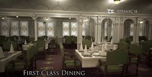 Titanic 1st Class Dining Room Titanic Ii Photo Tour Ship Set To Debut In 2018