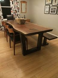 Dining Room Furniture Toronto Amazing Live Edge Tables Toronto Ontario Slab Table At Dining Room