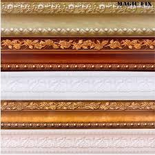 pvc self adhesive walls decals waterproof waistline wallpaper