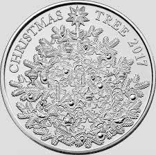 the royal mint unveils silver 5 christmas tree coin 2017 royal
