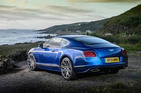 bentley rear 2015 bentley continental gt speed review