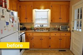cheap kitchen makeover ideas before and after delightful lovely
