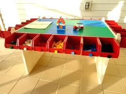 Kids Activity Table With Storage Lego Table Kids Play Table Lots Of Storage Boys Toy Legos Lego