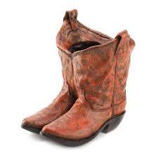 cowboy home decor wholesale classic cowboy boots planter western theme wedding