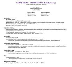 exle of college resume college resume format sensational ideas sle resumes for college