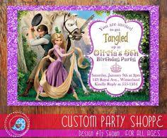 personalized photo invitations cmartistry rapunzel flynn