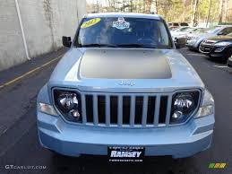 white jeep with teal accents 2012 winter chill pearl jeep liberty arctic edition 4x4 78940016