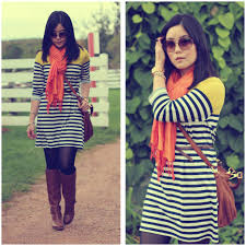 kristania petra gifted scarf old navy striped dress michael