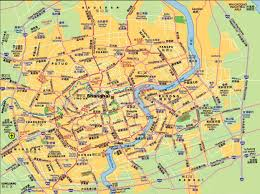 Map Of Shanghai City Maps Stadskartor Och Turistkartor China Japan Etc Travel
