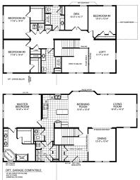 modern floor plan uncategorized 4 bedroom 2 story floor plan top inside glorious 8