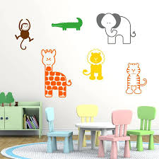 Letter Wall Decals For Nursery Letter Wall Decals For Nursery Nursery Wall Letters Nursery Animal