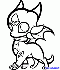 how to draw chibi cynder cynder the dragon step 8 dragoart