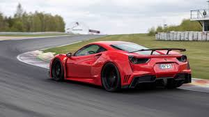 ferrari 458 widebody the novitec n largo is a widebody ferrari 488 with shades of the