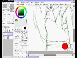 dibujo anime paint tool sai youtube