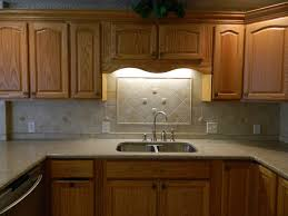 Kitchen Pictures With Oak Cabinets Kitchen Awesome Oak Kitchen Cabinets With Granite Countertops