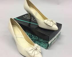 Wedding Shoes Size 9 Vintage Wedding Shoes Etsy