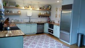 Vintage Metal Kitchen Cabinets Before Kitchen 1950s Metal Cabinets Refinished Youngstown