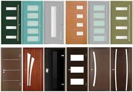 deco porte de chambre porte interieur bois moderne deco maison moderne