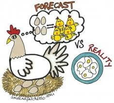Count Your Chickens Before They Hatch Meaning Thought This Was Pretty On Forecasting Vs The