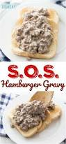 s o s hamburger gravy recipe from the country cook do it