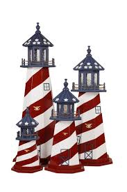 decorative lawn lighthouse replica made in usa
