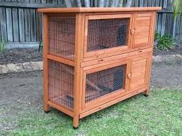 x large rabbit hutch guinea pig cage w 2 pull out trays g104 ebay